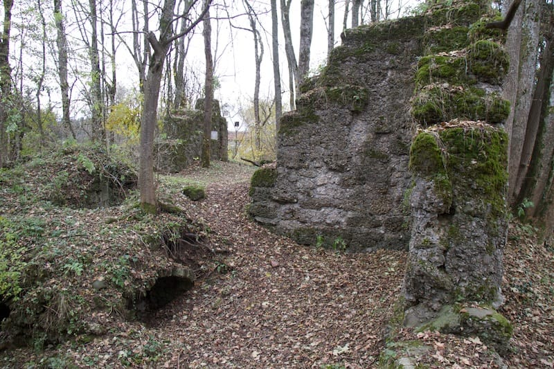 Ruine Rothenstein<br />(Bad Grönenbach - Oberallgäu / 2012)